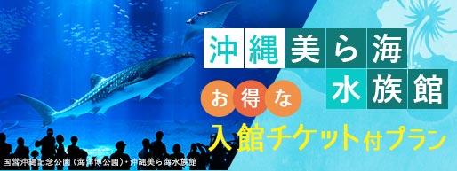 お得な 美ら海水族館 入館チケット付プラン